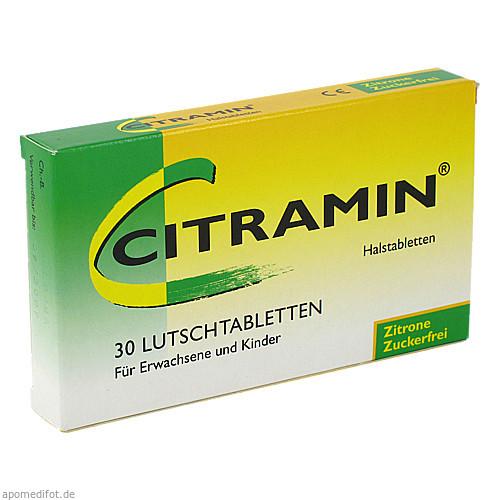 Citramin Halstabletten, 30 ST, Engelhard Arzneimittel GmbH & Co. KG