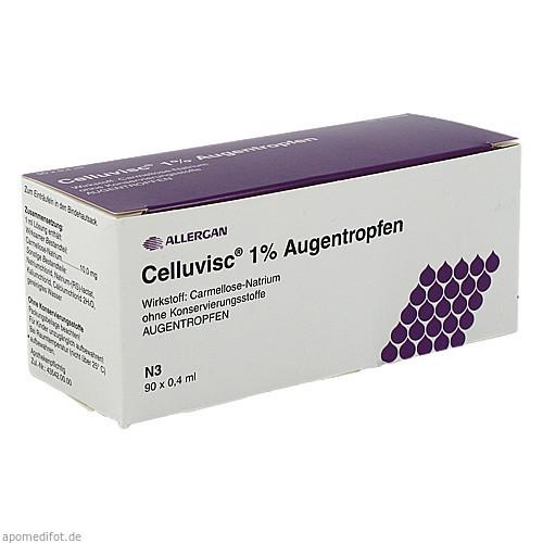 Celluvisc 1% Augentropfen, 90X0.4 ML, Allergan GmbH
