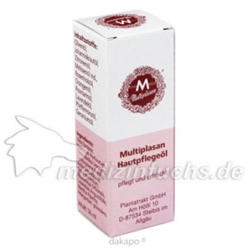 Multiplasan Hautpflegeöl, 50 ML, Plantatrakt GmbH