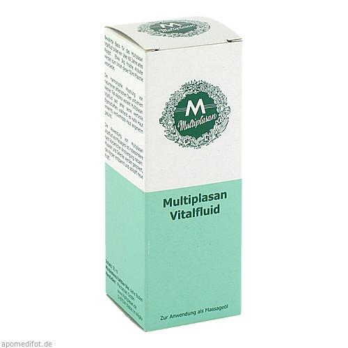 Multiplasan Vitalfluid, 50 ML, Plantatrakt GmbH