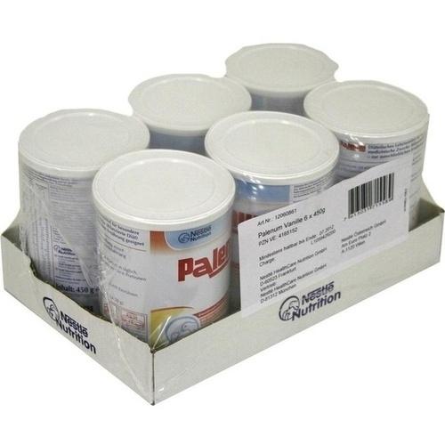 Palenum Vanille, 6X450 G, Ghd Direkt Ii GmbH Vertriebslinie Nestle