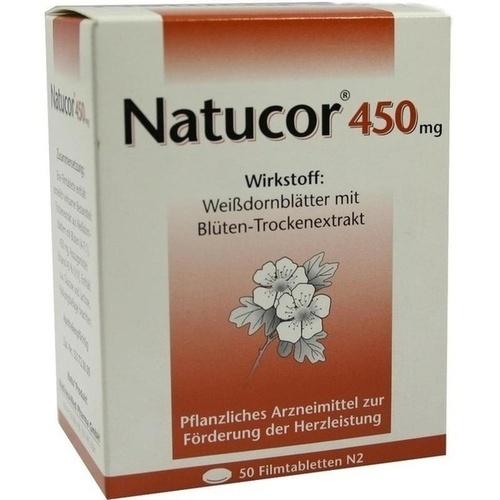 Natucor 450mg, 50 ST, Rodisma-Med Pharma GmbH