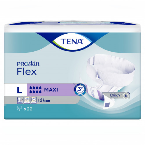 TENA Flex Maxi Large, 3X22 ST, Essity Germany GmbH