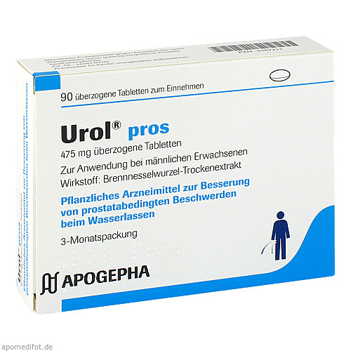 Urol pros, 90 ST, Apogepha Arzneimittel GmbH