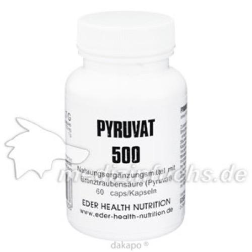 PYRUVAT 500, 60 ST, Eder Health Nutrition