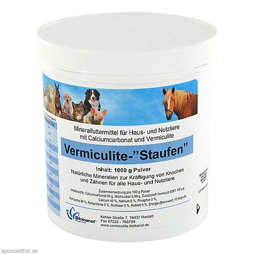 Vermiculite-Staufen Vet., 1000 G, Biokanol Pharma GmbH