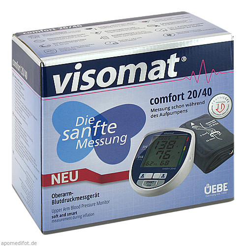 visomat comfort 20/40 Oberarm Blutdruckmessgeraet, 1 ST, Uebe Medical GmbH