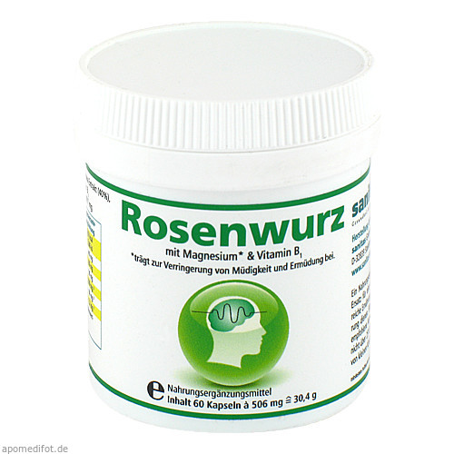 Rosenwurz, 60 ST, Sanitas GmbH & Co. KG