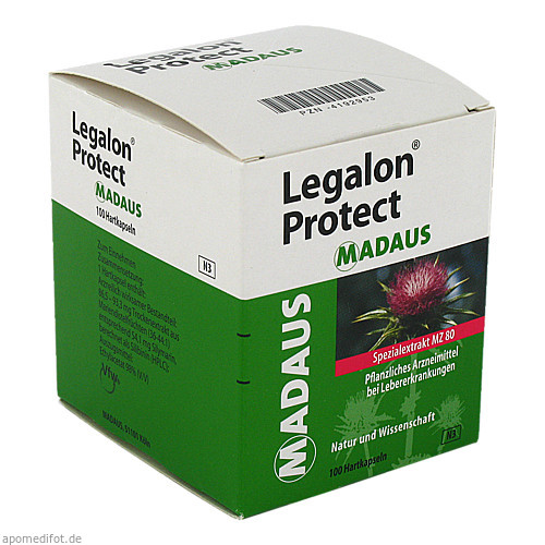 Legalon Protect Madaus, 100 ST, MEDA Pharma GmbH & Co.KG
