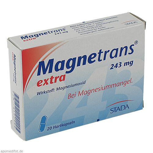 Magnetrans extra 243mg, 20 ST, STADA GmbH