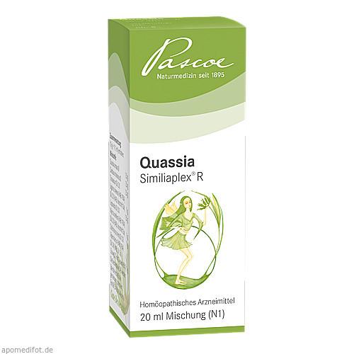 QUASSIA SIMILIAPLEX R Tropfen, 20 ML, PASCOE pharmazeutische Präparate GmbH
