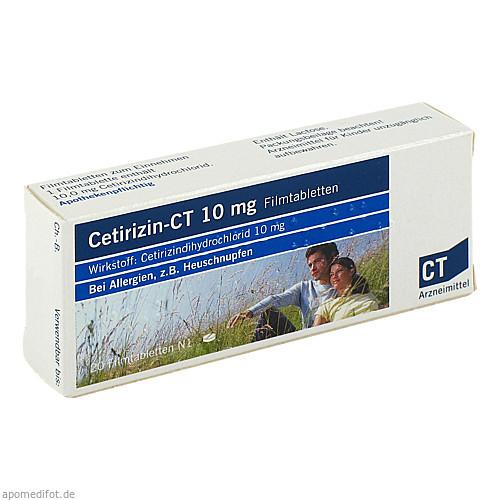 CETIRIZIN-CT 10 mg Filmtabletten, 20 ST, AbZ Pharma GmbH