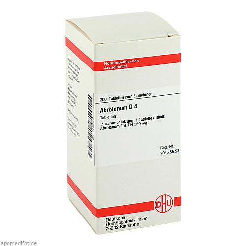 ABROTANUM D 4, 200 ST, Dhu-Arzneimittel GmbH & Co. KG