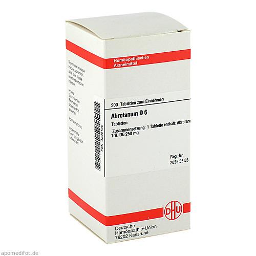 ABROTANUM D 6, 200 ST, Dhu-Arzneimittel GmbH & Co. KG