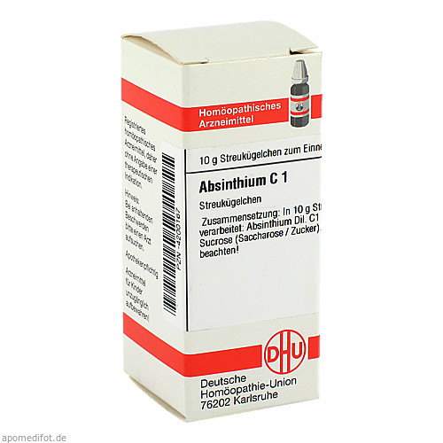 ABSINTHIUM C 1, 10 G, Dhu-Arzneimittel GmbH & Co. KG