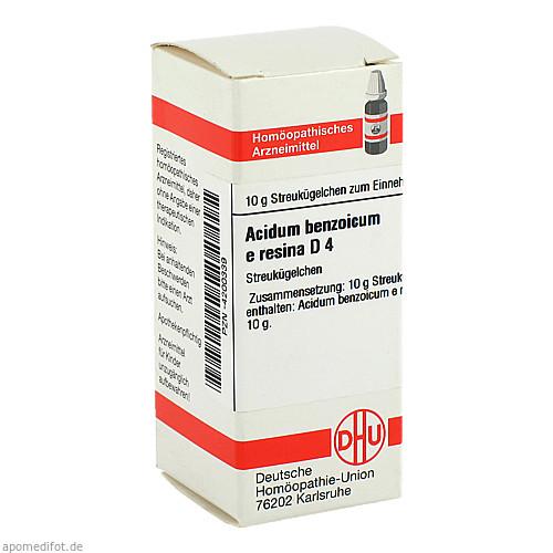 ACIDUM BENZOIC E RES D 4, 10 G, Dhu-Arzneimittel GmbH & Co. KG