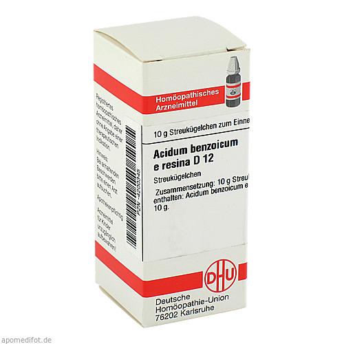 ACIDUM BENZOIC E RES D12, 10 G, Dhu-Arzneimittel GmbH & Co. KG