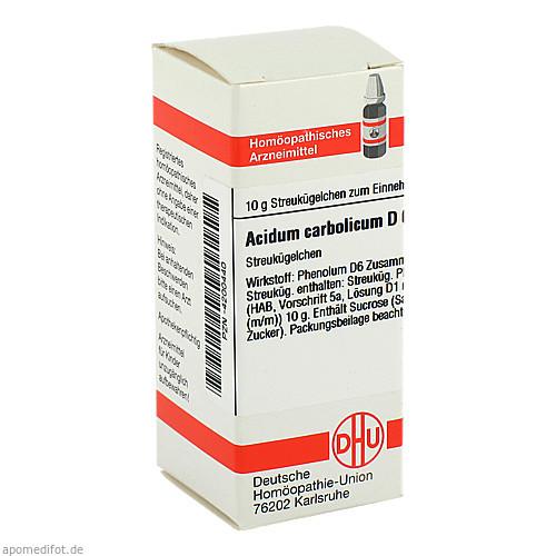 ACIDUM CARBOLICUM D 6, 10 G, Dhu-Arzneimittel GmbH & Co. KG