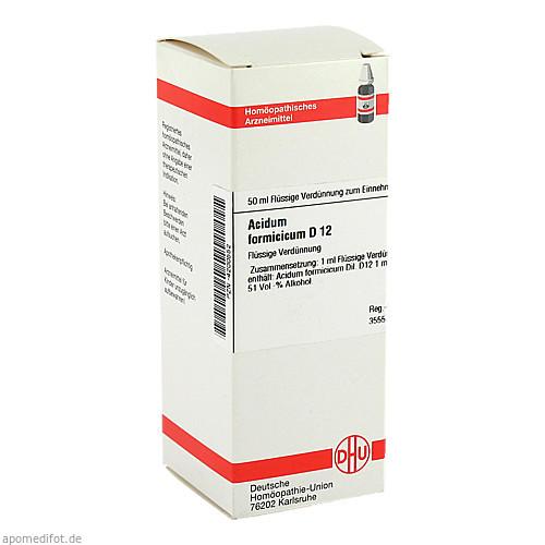 ACIDUM FORMIC D12, 50 ML, Dhu-Arzneimittel GmbH & Co. KG