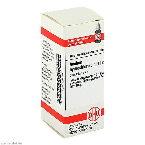 ACIDUM HYDROCHL D12, 10 G, Dhu-Arzneimittel GmbH & Co. KG