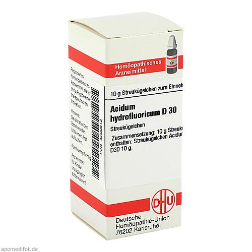 ACIDUM HYDROFLUOR D30, 10 G, Dhu-Arzneimittel GmbH & Co. KG