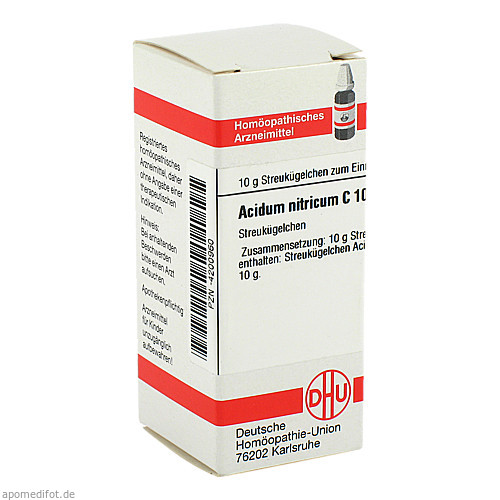ACIDUM NITR C1000, 10 G, Dhu-Arzneimittel GmbH & Co. KG