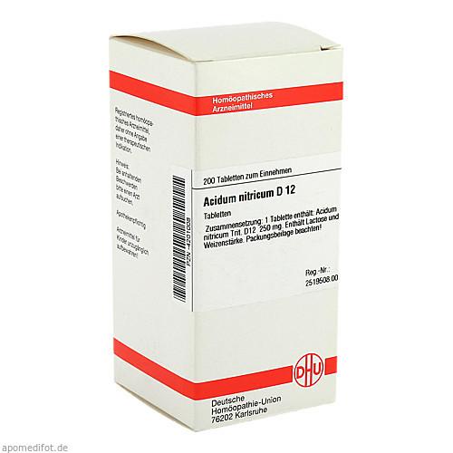 ACIDUM NITR D12, 200 ST, Dhu-Arzneimittel GmbH & Co. KG