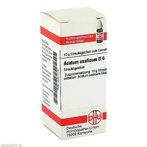 ACIDUM OXALIC D 6, 10 G, Dhu-Arzneimittel GmbH & Co. KG