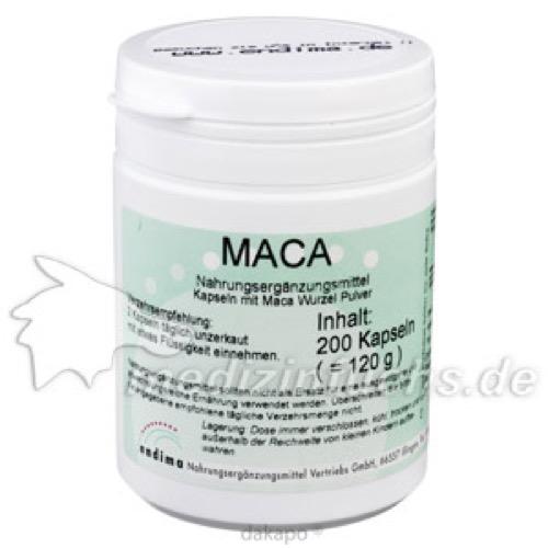 Maca, 200 ST, Endima Vertriebsgesellschaft mbH