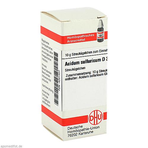 ACIDUM SULF D30, 10 G, Dhu-Arzneimittel GmbH & Co. KG