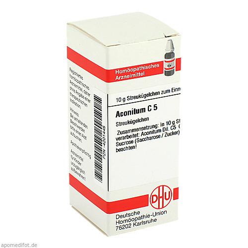 ACONITUM C 5 Globuli, 10 G, DHU-Arzneimittel GmbH & Co. KG