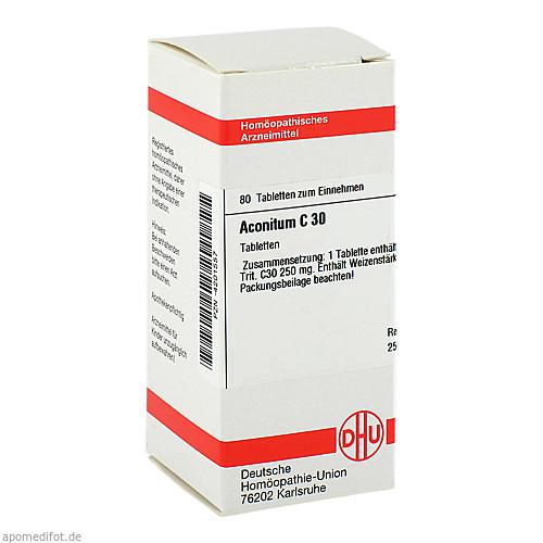 ACONITUM C30, 80 ST, Dhu-Arzneimittel GmbH & Co. KG