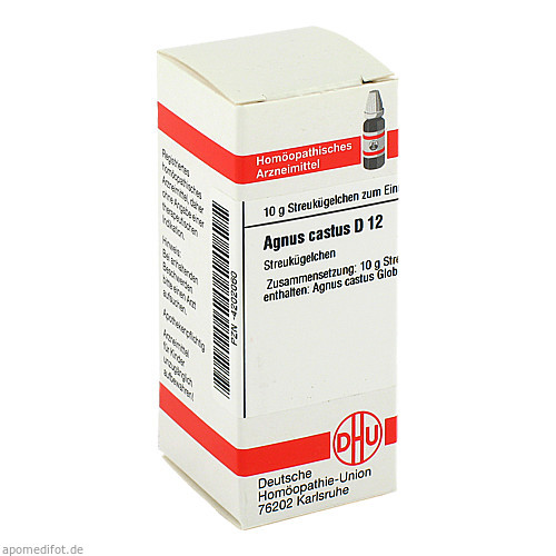 AGNUS CASTUS D12, 10 G, Dhu-Arzneimittel GmbH & Co. KG