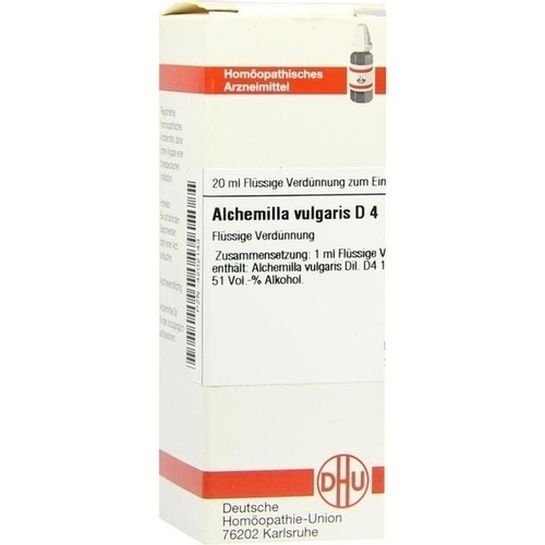 ALCHEMILLA VULG D 4, 20 ML, Dhu-Arzneimittel GmbH & Co. KG