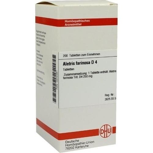 ALETRIS FARINOSA D 4, 200 ST, Dhu-Arzneimittel GmbH & Co. KG
