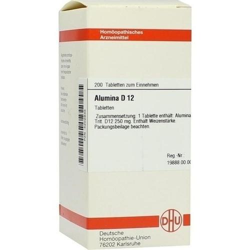 ALUMINA D12, 200 ST, Dhu-Arzneimittel GmbH & Co. KG