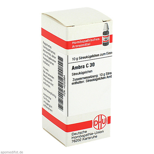 AMBRA C30, 10 G, Dhu-Arzneimittel GmbH & Co. KG