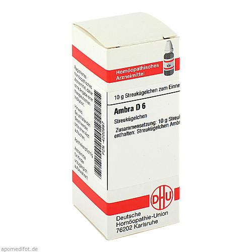 AMBRA D 6, 10 G, Dhu-Arzneimittel GmbH & Co. KG