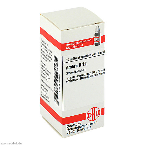 AMBRA D12, 10 G, Dhu-Arzneimittel GmbH & Co. KG