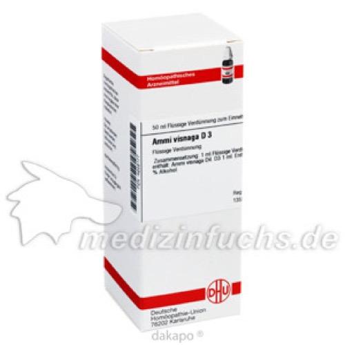 AMMI VISNAGA D 3, 50 ML, Dhu-Arzneimittel GmbH & Co. KG