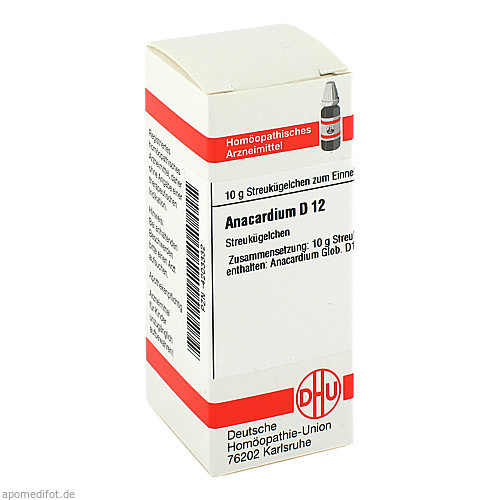 ANACARDIUM D12, 10 G, Dhu-Arzneimittel GmbH & Co. KG