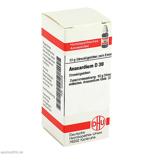 ANACARDIUM D30, 10 G, Dhu-Arzneimittel GmbH & Co. KG