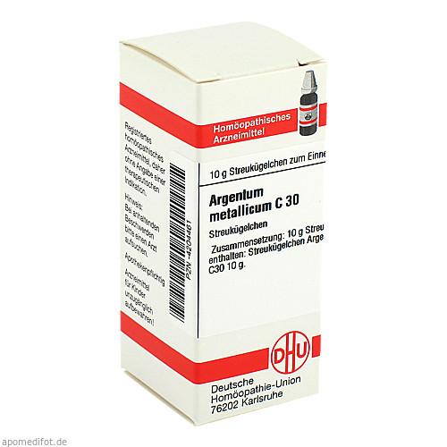 ARGENTUM MET C30, 10 G, Dhu-Arzneimittel GmbH & Co. KG
