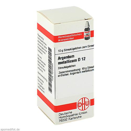 ARGENTUM MET D12, 10 G, Dhu-Arzneimittel GmbH & Co. KG