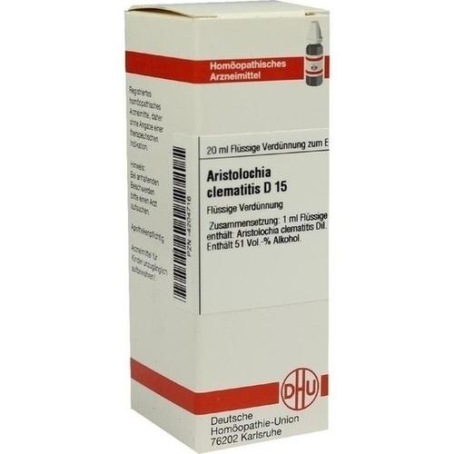 ARISTOLOCHIA CLEMATITIS D 15 Dilution, 20 ML, DHU-Arzneimittel GmbH & Co. KG