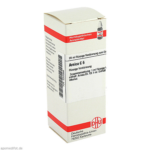 ARNICA C 6, 20 ML, Dhu-Arzneimittel GmbH & Co. KG