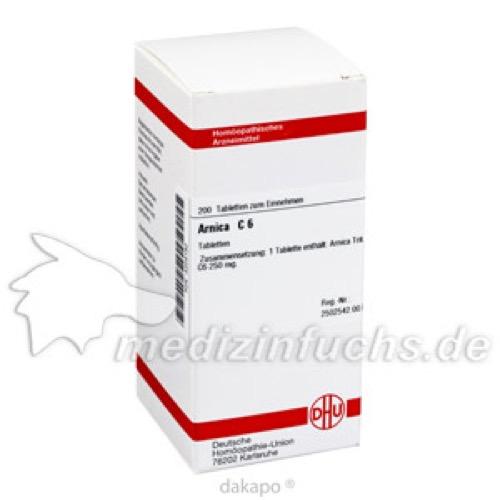 ARNICA C 6, 200 ST, Dhu-Arzneimittel GmbH & Co. KG