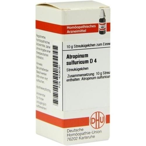 ATROPINUM SULF D 4, 10 G, Dhu-Arzneimittel GmbH & Co. KG