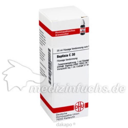 BAPTISIA C30, 20 ML, Dhu-Arzneimittel GmbH & Co. KG