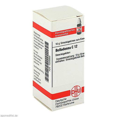 BELLADONNA C 12 Globuli, 10 G, DHU-Arzneimittel GmbH & Co. KG